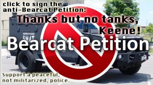 anti bearcat petition graphic1 300x167 Thanks but no tanks, Keene!