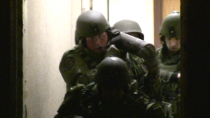 Keene SWAT Exits 39 Central Square