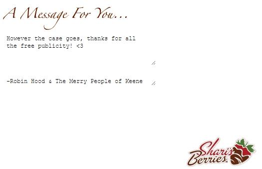Sherri's Berries Note