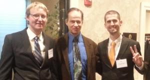 James Cleaveland, Attorney Jon Meyer, Ian Freeman